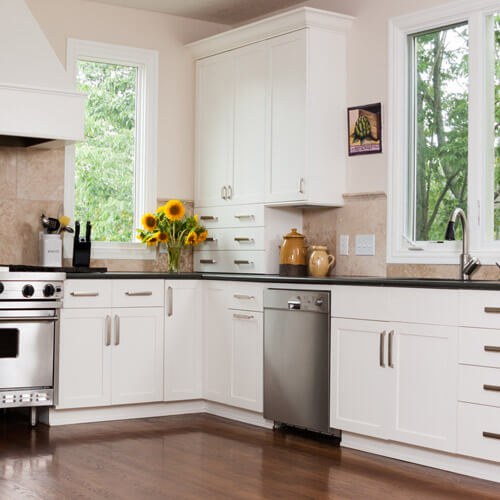 Comptoirs de cuisine en produits recyclés environnementaux
