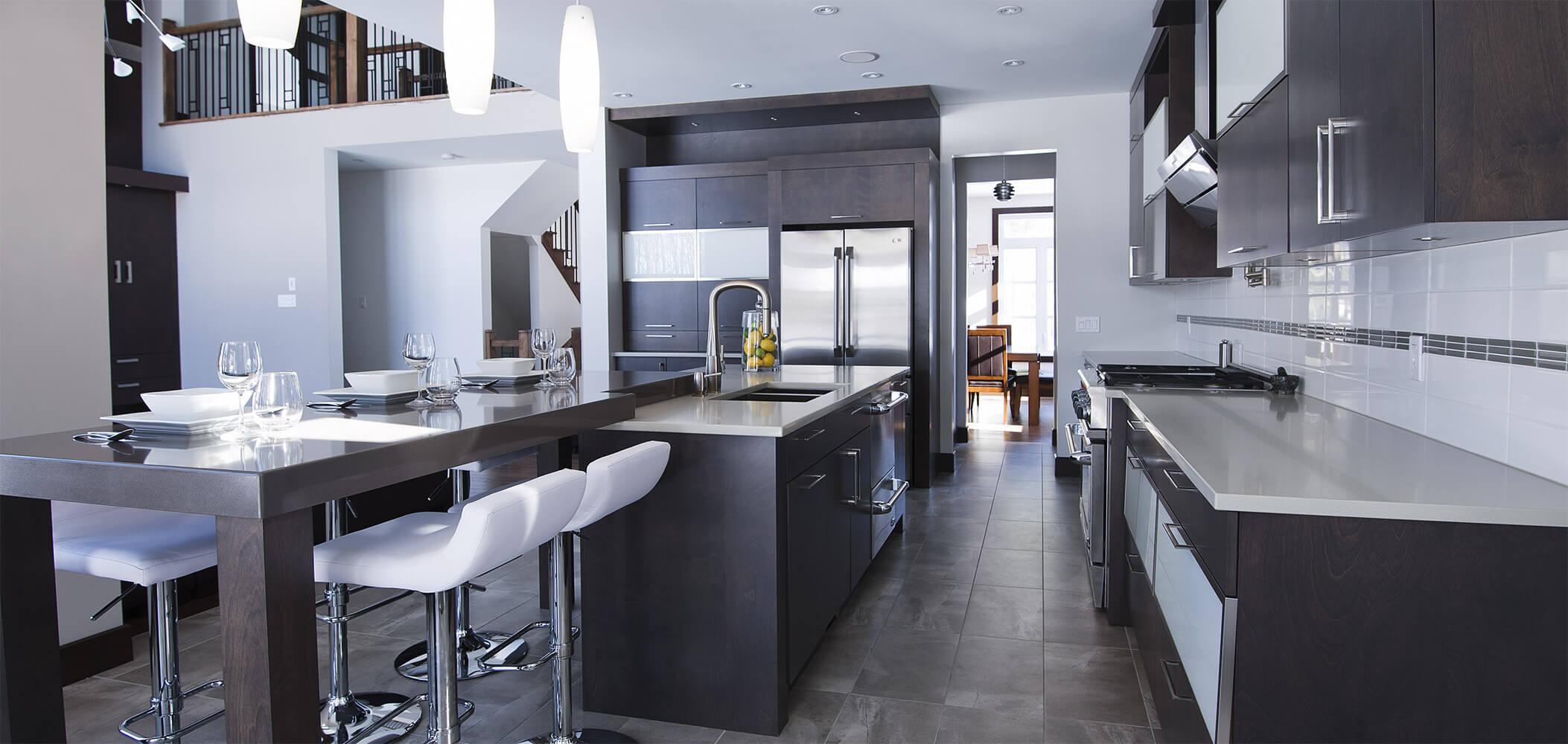Armoire de cuisine terrebonne comptoir en quartz for Armoire de cuisine vaudreuil dorion