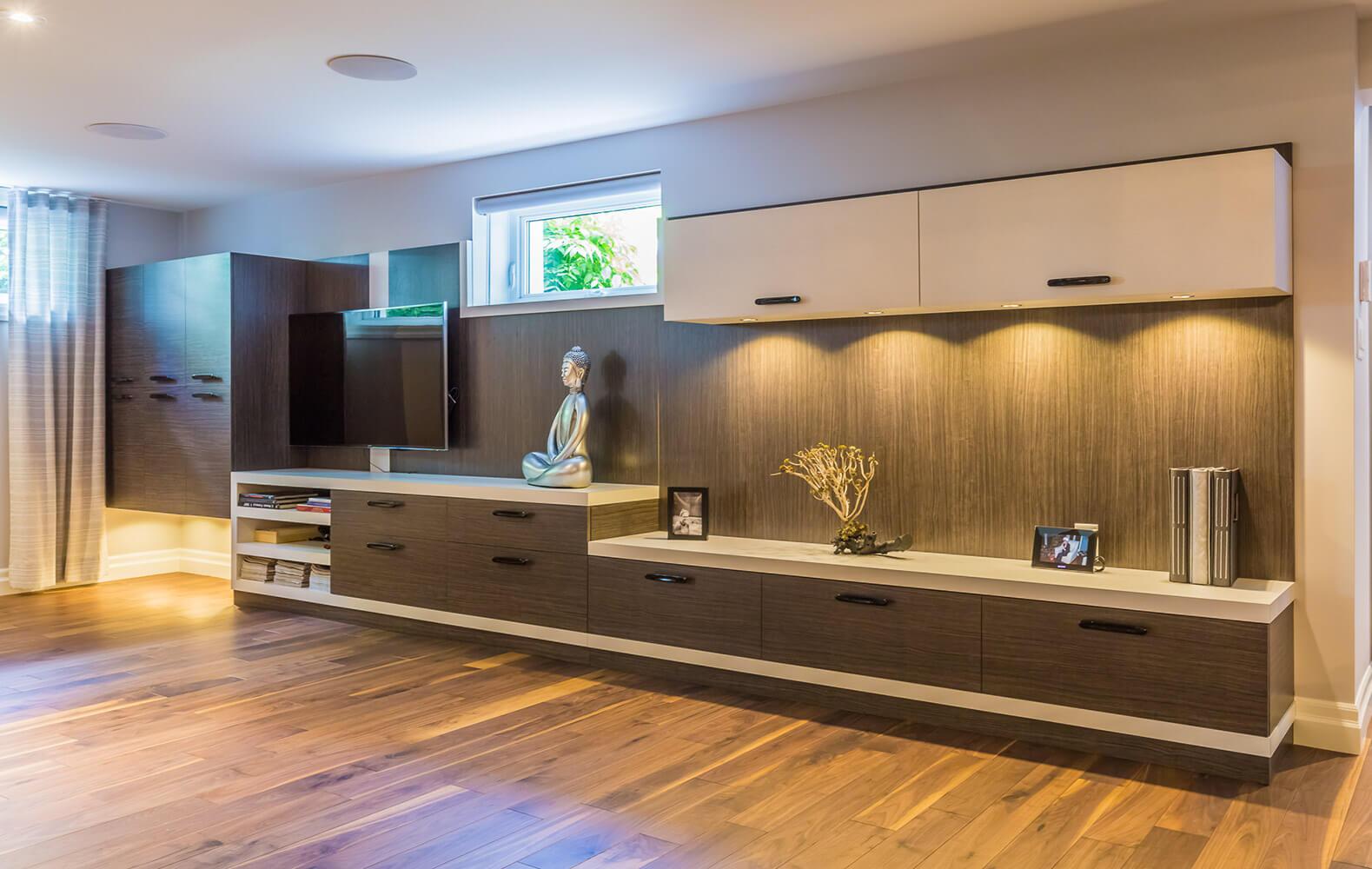 meuble sur mesure lanoraie comptoir en stratifier. Black Bedroom Furniture Sets. Home Design Ideas