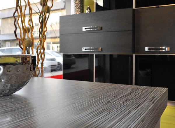 Comptoir de cuisine en stratifi monica f design for Cuisine en stratifie